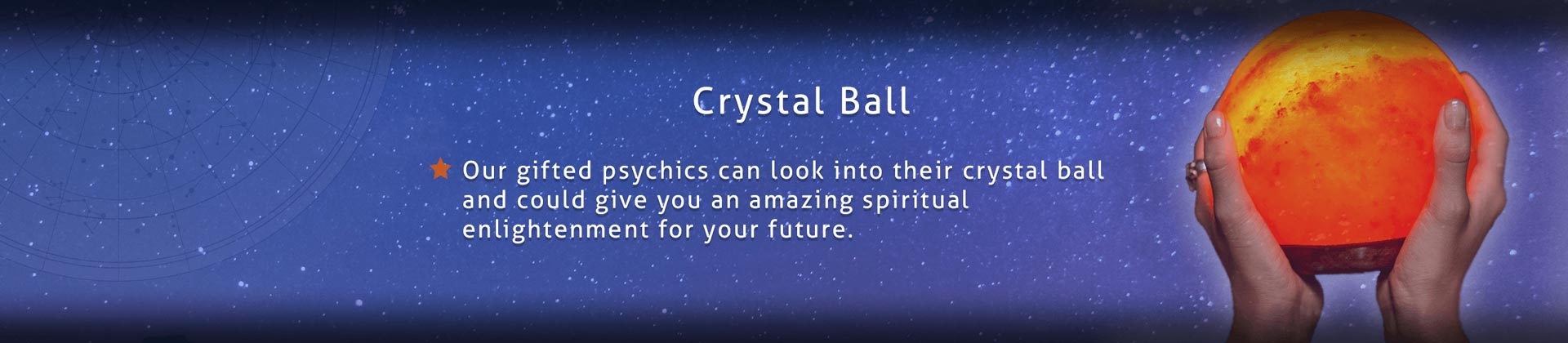 Crystal Ball Night Star