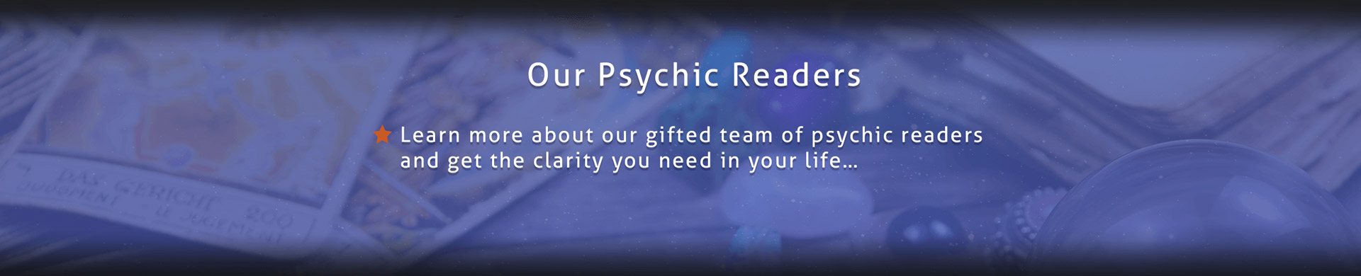 Our Psychic Readers Night star