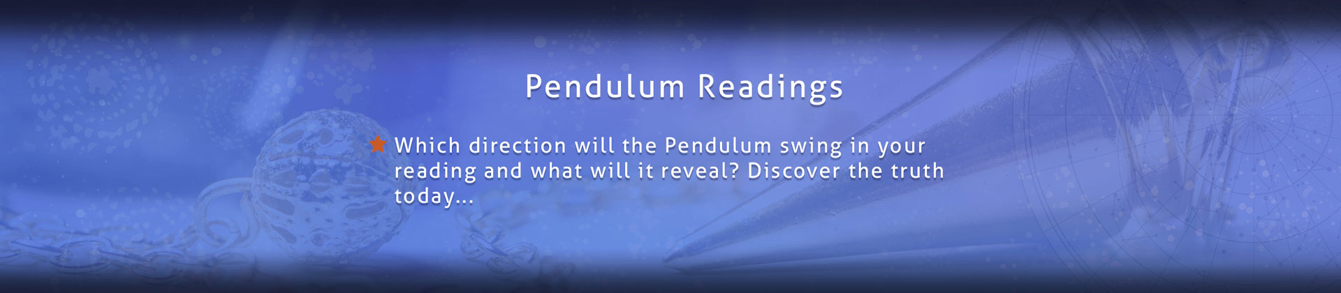 Pendulum Readings Night Star